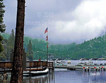 Pinecrest Lake Marina