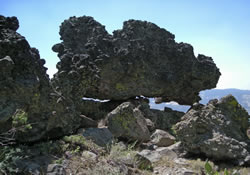 More Volcanic rock formations